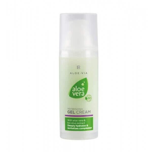 Aloe Vera освежаващ гел крем за лице - 50ml от Denim.BG