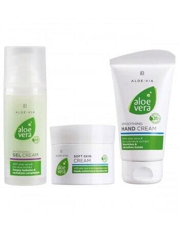 Aloe Vera комплект пълна грижа за тялото от 3 части от Denim.BG