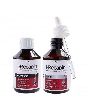 комплект шампоан и тоник срещу косопад L-Recapin
