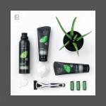Aloe Vera комплект за мъжкото бръснене от 3 части от Denim.BG
